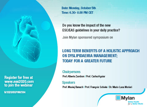 Mylan sponsored virtual symposium